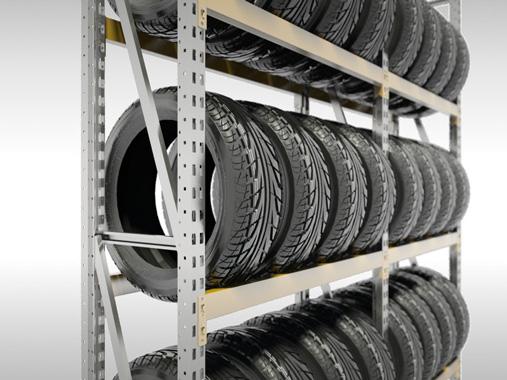 Rack à pneus d'occasion